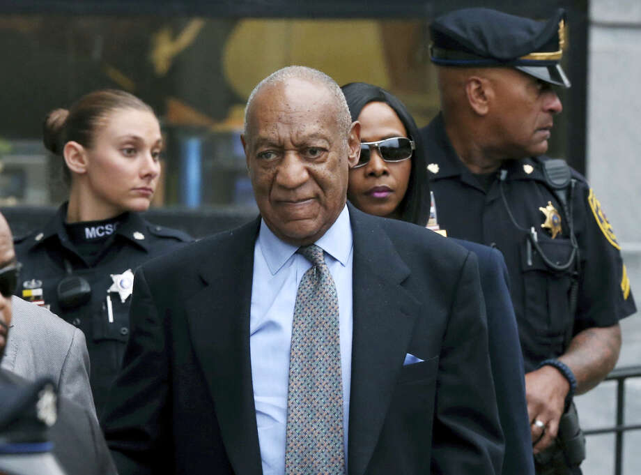 In this Nov. 1, 2016 photo, Bill Cosby leaves after a hearing in his sexual assault case at the Montgomery County Courthouse in Norristown, Pa. Lawyers for Cosby will battle in court starting Tuesday, Dec. 13, 2016 to try to limit the number of other accusers who can testify at the comedian's sexual assault trial. (AP Photo/Mel Evans, File) Photo: AP / Copyright 2016 The Associated Press. All rights reserved.
