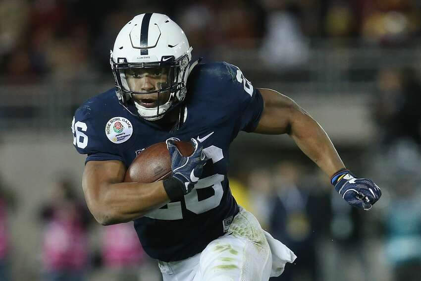 2. New York Giants -- RB Saquon Barkley, Penn State Barkley is one of the most-hyped draft prospects in recent memory after a super productive career with the Nittany Lions and a dominant combine performance. But is No. 2 too high for a running back, regardless of ability?
