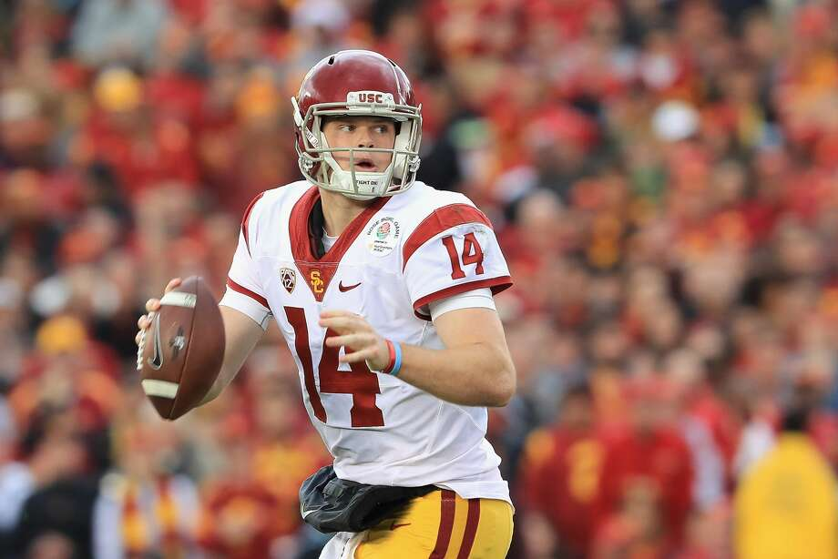 1. Cleveland Browns -- QB Sam Darnold, USC Photo: Sean M. Haffey/Getty Images
