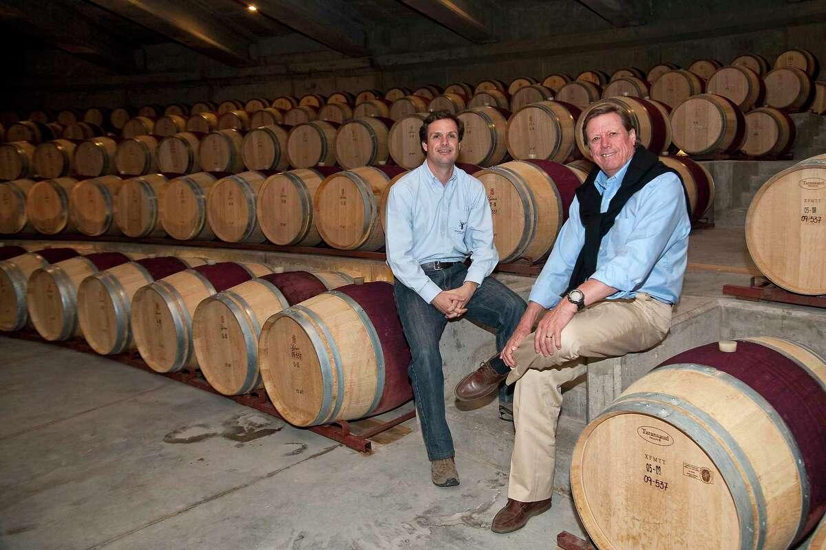 Aurelio Montes Jr. and Aurelio Montes Sr. of Vina Montes in Chile.