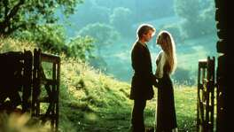 "Cary Elwes, left, and Robin Wright in a scene from ""The Princess Bride."""