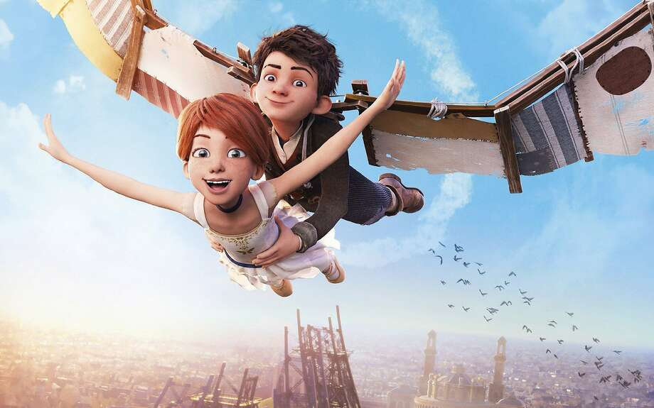 """A ballerina and young inventor pursue their dreams in """"Leap!"""" Photo: Courtesy Entertainment One"""