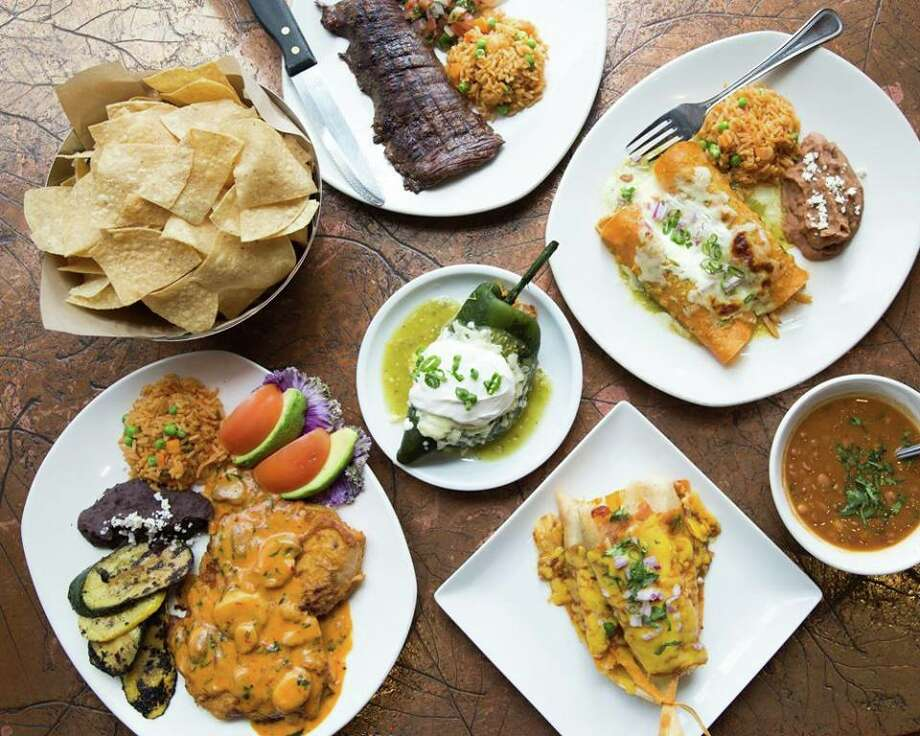 Cyclone Anaya's Mexican Kitchen, a grouop of Houston-based Tex-Mex restaurants has been sold to the Heritage Restaurant Group, part of the Dhanani Group, which also owns La Madeleine brand. Shown: A variety of classic Cyclone dishes. Photo: Cyclone Anaya Facebook