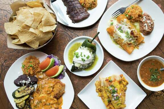 Cyclone Anaya's Mexican Kitchen, a grouop of Houston-based Tex-Mex restaurants has been sold to the Heritage Restaurant Group, part of the Dhanani Group, which also owns La Madeleine brand. Shown: A variety of classic Cyclone dishes.