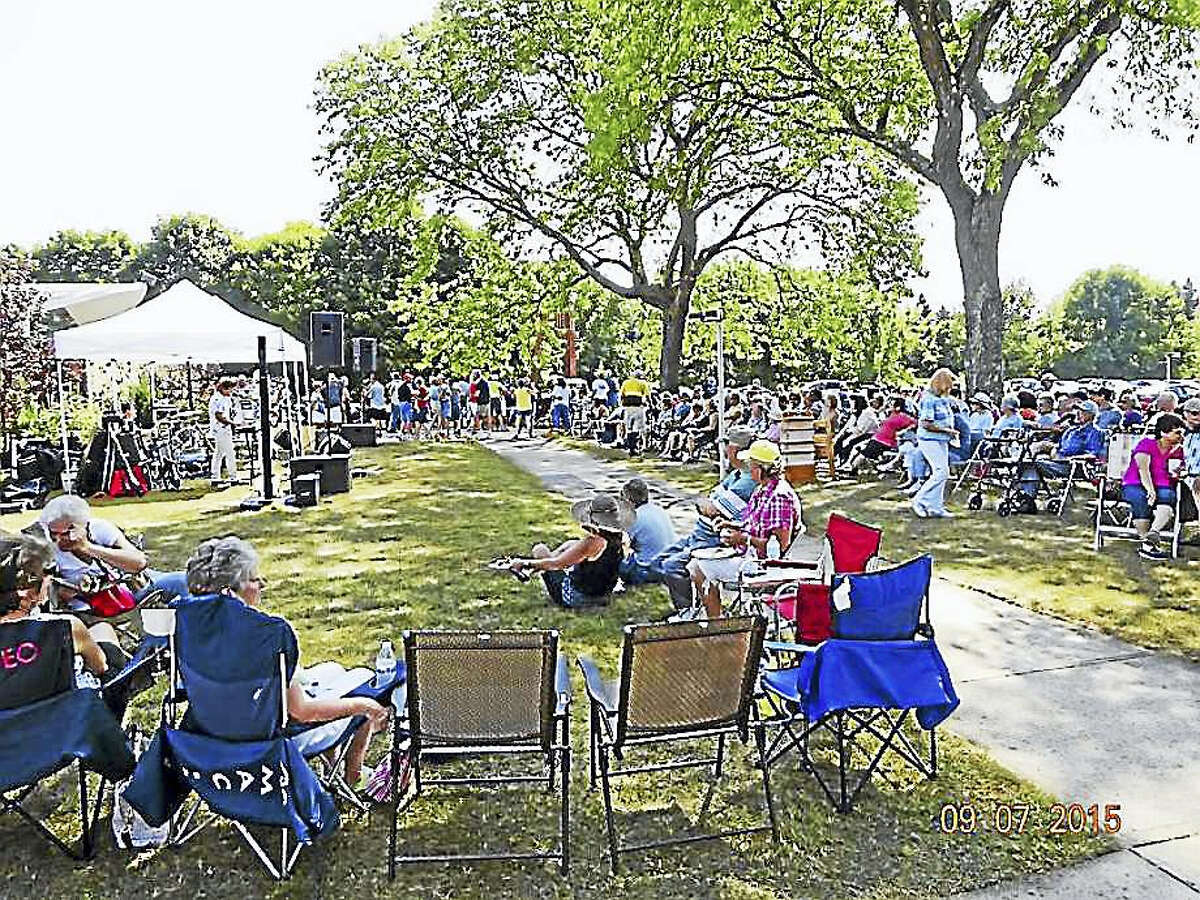 Crowds turn out for the annual Labor Day Family Festival and Picnic in Derby.