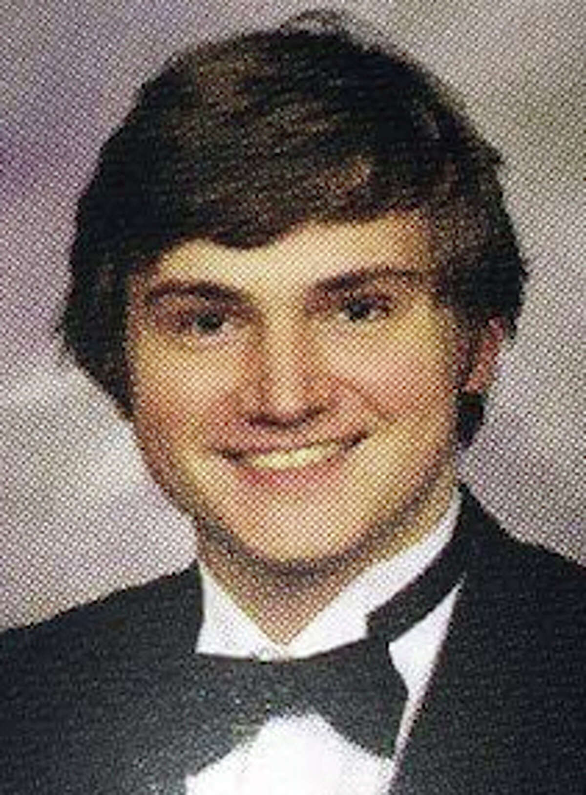Andrew Schneck, who was charged with trying to bomb the Dick Dowling statue, shown in his 2009 Junior year Memorial High School yearbook in spring branch ISD.