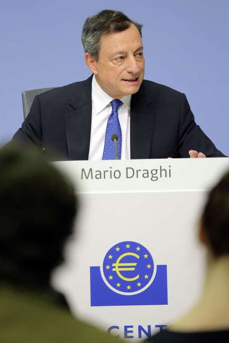 European Central Bank head Mario Draghi will be part of a bankers' gathering this week.  Photo: Hannelore Foerster, Stringer / 2016 Getty Images