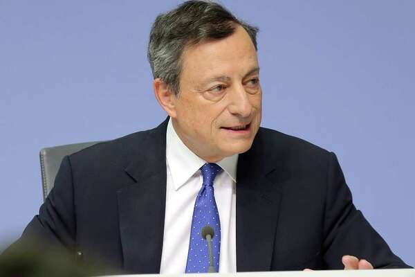 European Central Bank head Mario Draghi will be part of a bankers' gathering this week.