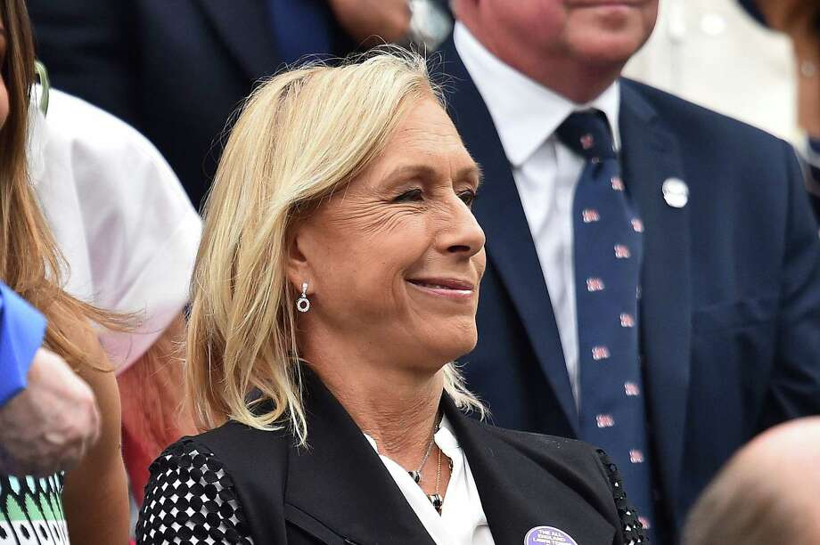 Navratilova Photo: GLYN KIRK / AFP/Getty Images / AFP or licensors
