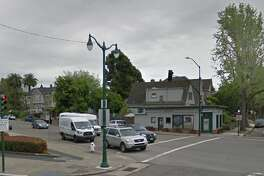 """A neighborhood resident reported finding two flyers displaying a swastika and a """"hate message"""" on the 1400 block of Sherman Street on Sunday, said Alameda police Sgt. Rich Soto."""