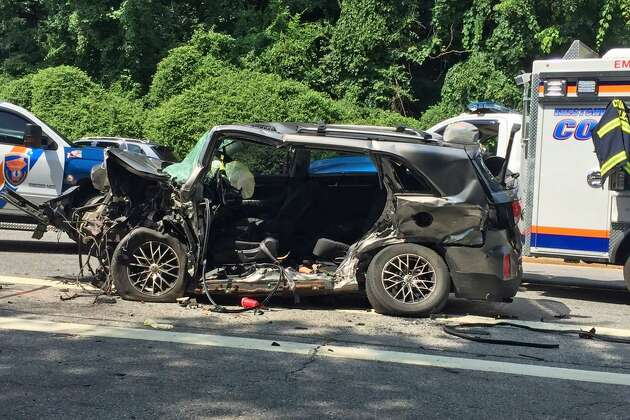 New York police have identified the woman killed in an early Sunday morning crash on the Hutchinson River Parkway as a 56-year-old Beacon Falls resident. Police say Damita Mathis, of Beacon Falls, was driving the wrong way when her 2014 Kia Sorento slammed into another vehicle in Scarsdale, N.Y. at around 4:30 a.m. Sunday. Police say she was traveling southbound in the northbound lane.