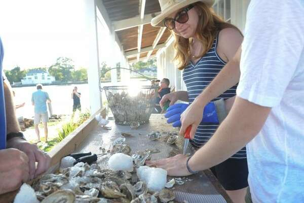 The tour includes a demonstration on oyster shucking. Those who would like can try it for themselves. Everyone gets to enjoy the fresh oysters, too.