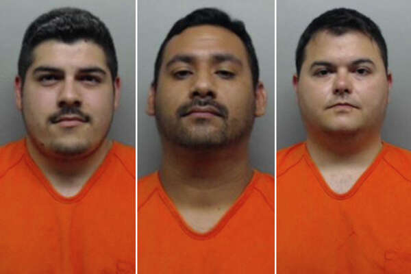 Authorities identified them as correctional officer Jose M. Avila, five years of service; correctional officer Jorge Ramos, two years of service; and deputy Alfredo Sandoval Jr., seven years of service.