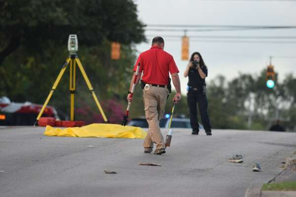 A pedestrian was struck and killed by a vehicle Tuesday morning on the North Side.