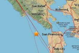 A 3.2 magnitude earthquake hit off the coast of Marin County Tuesday morning, according to the United States Geological Survey.