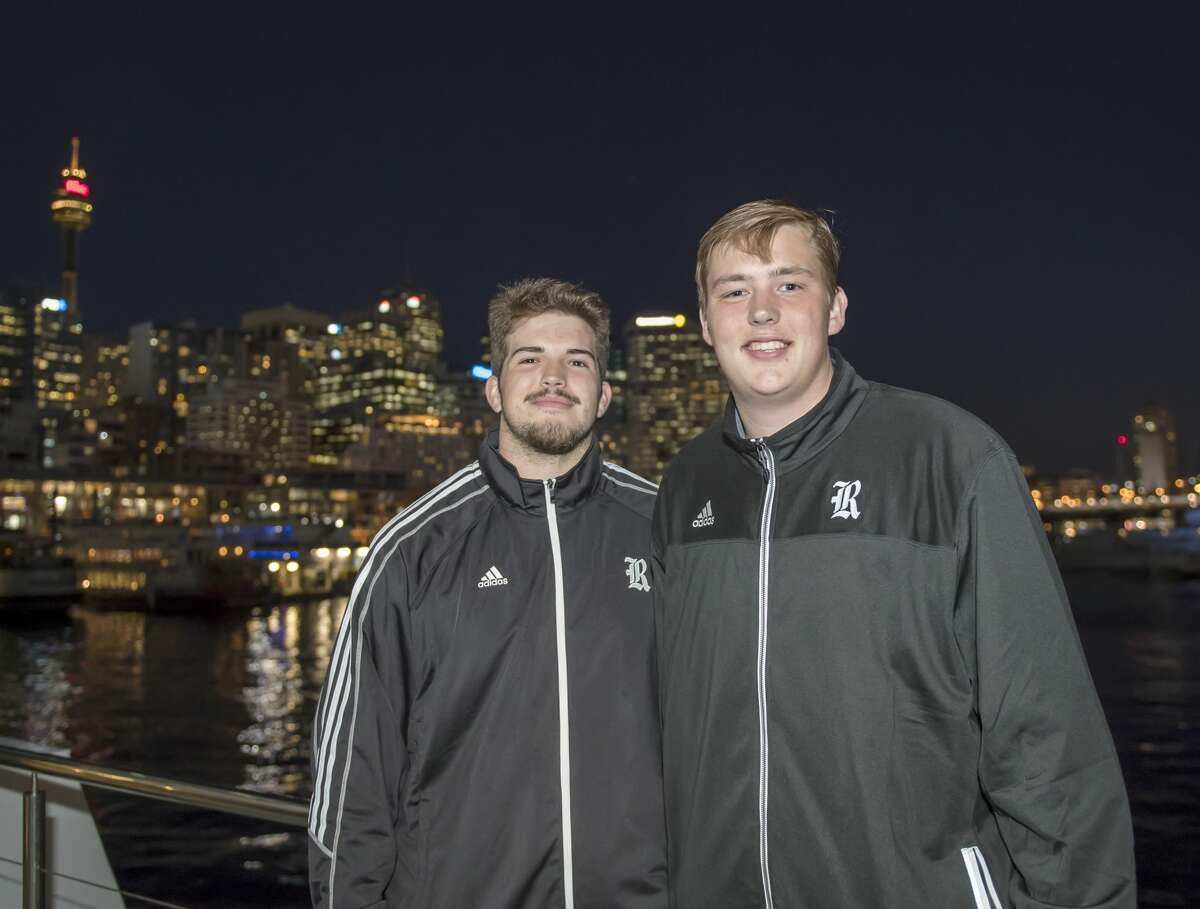 The Rice football team was treated to a dinner cruise in the Sydney Harbour. The Owls are in Sydney, Australia where they will play Stanford on Saturday, Aug. 26, 2017.