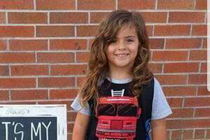 Jabez Oats, 4, has been told by his kindergarten school in Barber's Hill Independent School District that he cannot return unless he cuts his long hair.