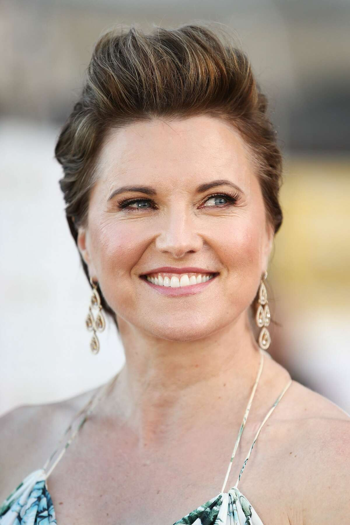 SYDNEY, AUSTRALIA - MARCH 02: Lucy Lawless arrives ahead of the Australian LGBTI Awards 2017 at Sydney Opera House on March 2, 2017 in Sydney, Australia. (Photo by Brendon Thorne/Getty Images)