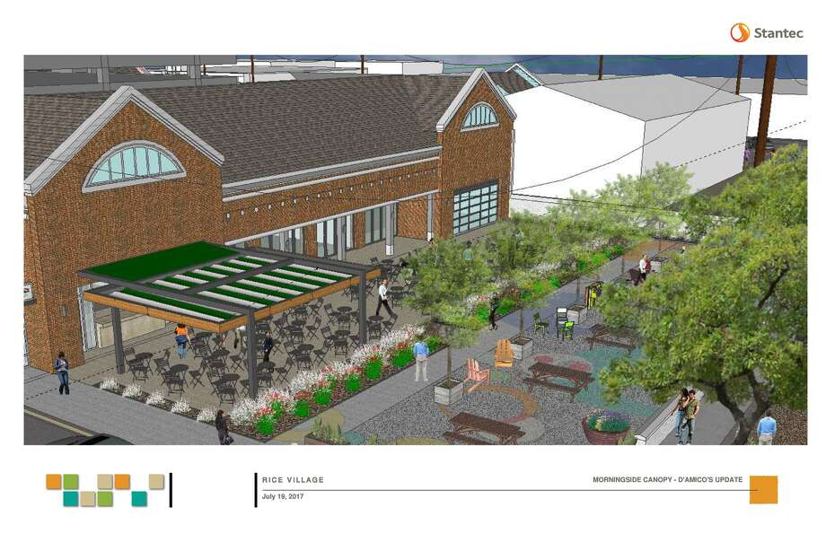A rendering of an expanded D'Amico's.