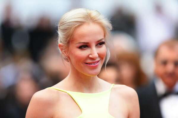 "Louise Linton attends the ""Foxcatcher"" premiere during the 67th Annual Cannes Film Festival on May 19, 2014 in Cannes, France.  (Photo by Vittorio Zunino Celotto/Getty Images)"