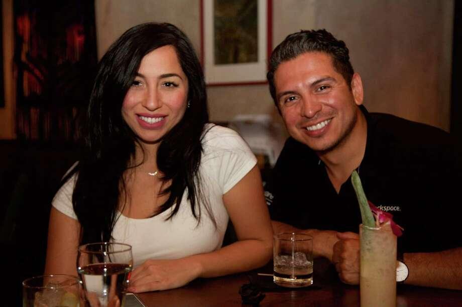 Joanna Arredondo and Jason Chetwood at Hanzo Photo: Xelina Flores / For The Express-News