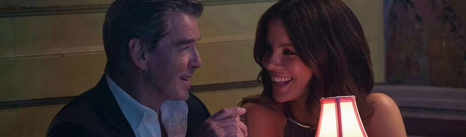 "Kate Beckinsale and Pierce Brosnan in ""The Only Living Boy in New York"" Photo: Roadside Attractions / Amazon Studios /TNS / Los Angeles Times"