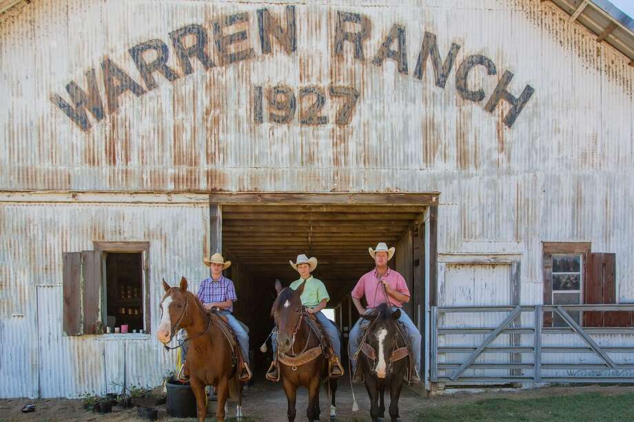 While nearby ranches have been converted to subdivisions, Warren Ranch has remained true to its Texas history and heritage. Photo: Kathy Adams Clark