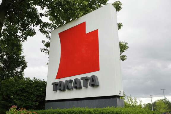 TK Holdings Inc. is located in Auburn Hills, Mich. A lawsuit filed Friday, details how a dangerous Takata air bag went from a wrecked car to a salvage yard, eventually ending up in a 2002 Honda Accord and nearly killing a Las Vegas woman.