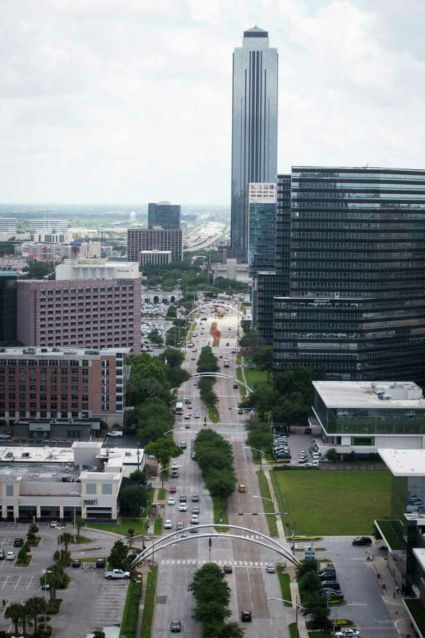 View of Post Oak Boulevard and the Williams Tower. Photo: Marie D. De Jesus, Staff / © 2017 Houston Chronicle