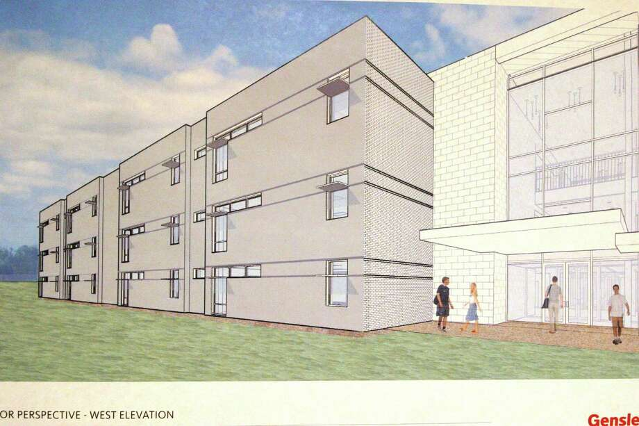 Architect's rendering of the proposed new wing at Bellaire HIgh School. / Submitted graphic