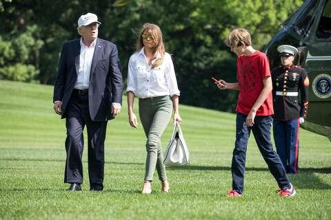 Melania Trump And Chelsea Clinton Fire Back At Critics Of Barron S