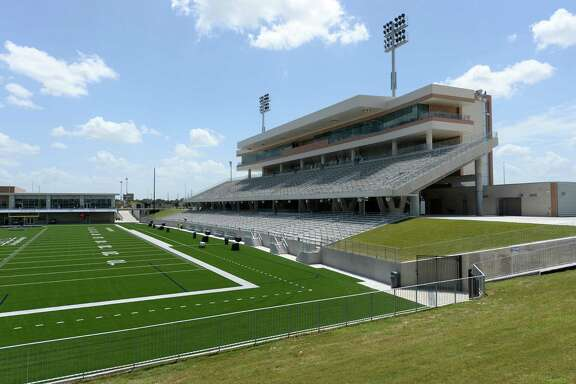 Home stands at the Katy ISD Legacy Stadium in Katy, TX on August 17, 2017.