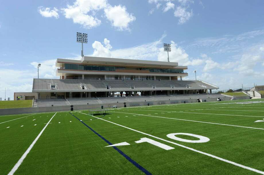 PHOTOS: The most expensive high school football stadiums in Texas Katy ISD opened Legacy Stadium in 2017, and it cost $70.3 million to build. Take a look at what Texas' most expensive high school football stadiums look like ... Photo: Craig Moseley, Staff / ©2017 Houston Chronicle