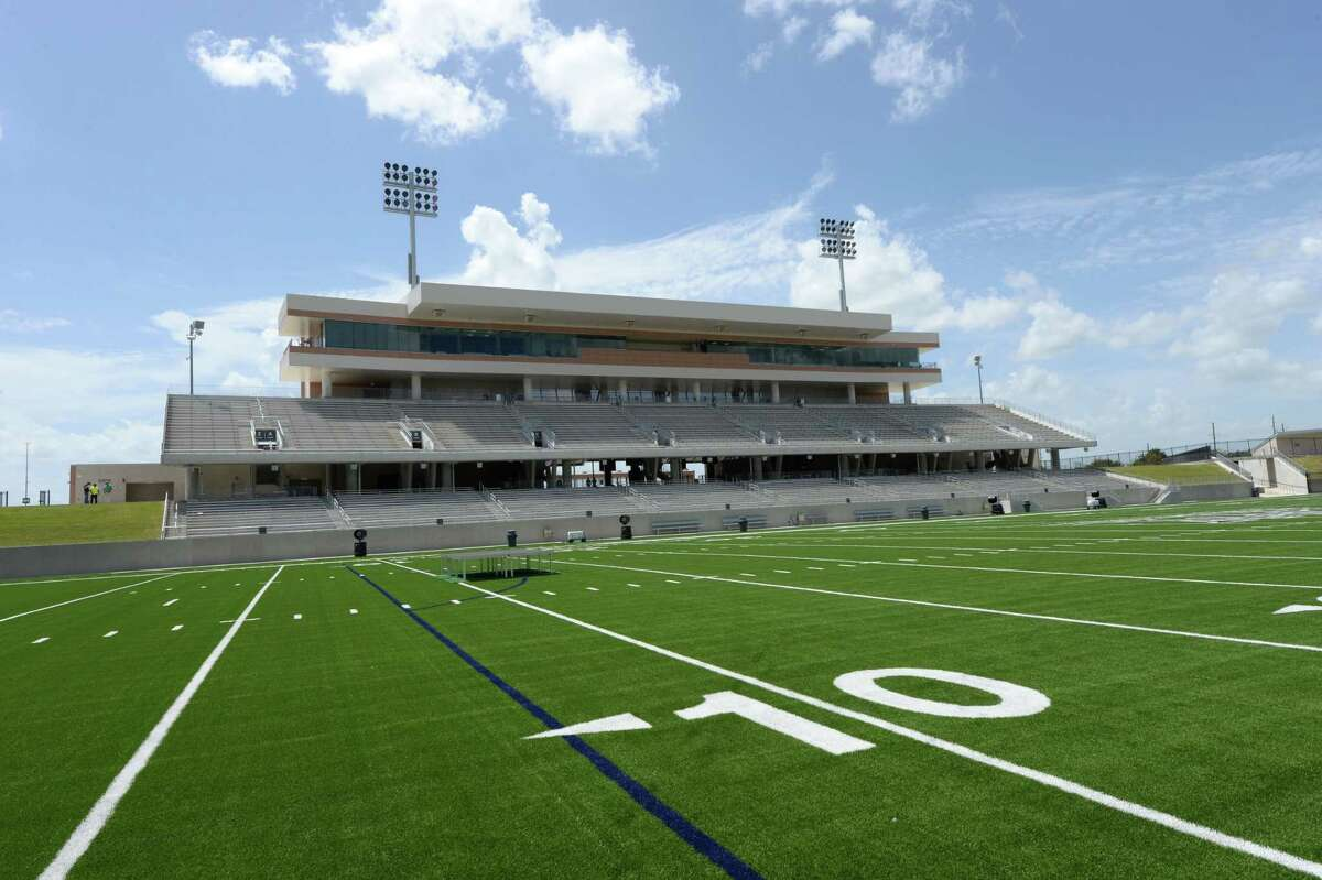 Katy ISD's Legacy Stadium, which opened in 2017, cost $70.3 million to build and is the most expensive high school football stadium in the state.