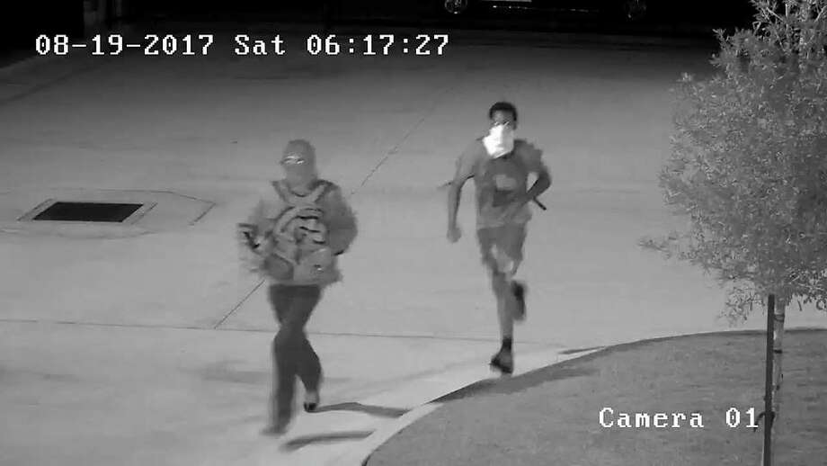 Burglars broke the glass of the front door of Saddle River Range in the 4200 block of FM 1488 and took the guns from inside a case on Saturday. Anyone with information is urged to contact the Montgomery County Sheriff's Office at 936-760-5800 or Crime Stoppers at 1-800-392-STOP (7867) and refer to case #17A247161. Anyone with information can also contact the ATF at 888-ATF-TIPS. Photo: MCSO