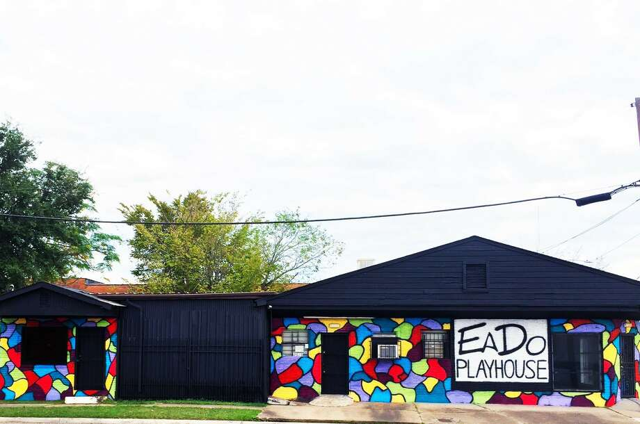 Luke Hamilton's EaDo Playhouse is housed in a century-old building that once housed a scrap-metal firm. The theater is at 2610 McKinney St., Houston.