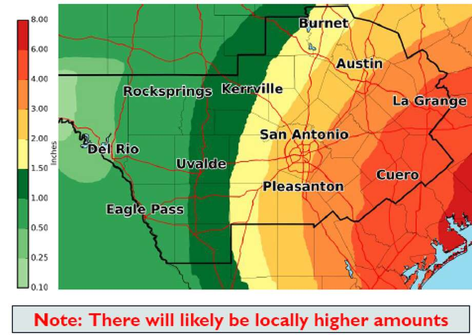 Forecasters have increasing confidence Tropical Storm Harvey will hit Texas this weekend and bring heavy rain.