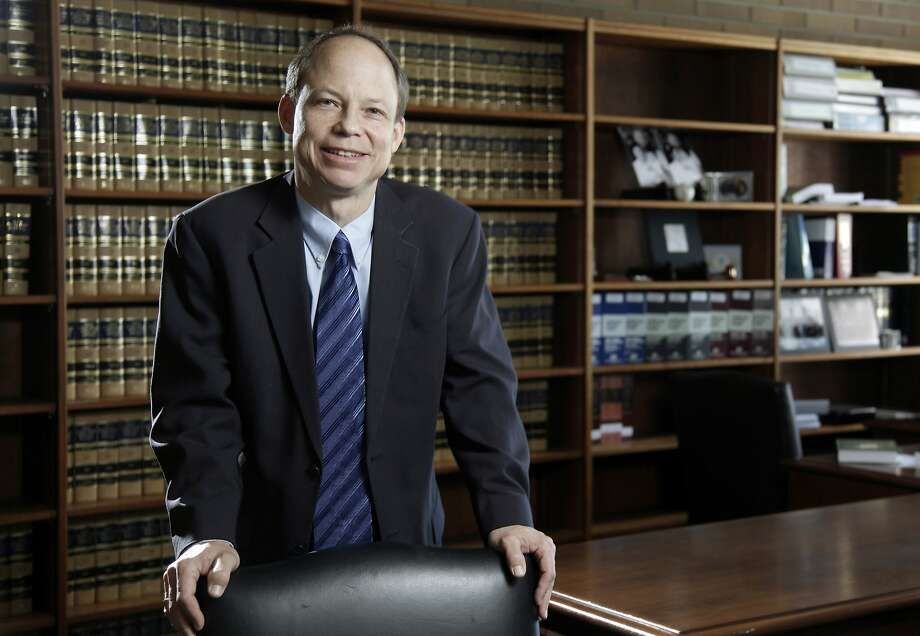 FILE - This June 27, 2011 file photo shows Santa Clara County Superior Court Judge Aaron Persky in San Francisco.  Campaign leaders seeking to recall  Persky for his handling of a sexual assault case say state elections officials are siding with them in a legal dispute over the ballot. They said Tuesday, Aug. 22, 2017,  that the California secretary of state supports their position that the recall of Judge Aaron Persky should be managed by Santa Clara County elections officials. (Jason Doiy /The Recorder via AP, File) Photo: Jason Doiy, Associated Press