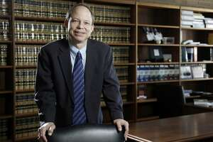 FILE - This June 27, 2011 file photo shows Santa Clara County Superior Court Judge Aaron Persky in San Francisco.  Campaign leaders seeking to recall  Persky for his handling of a sexual assault case say state elections officials are siding with them in a legal dispute over the ballot. They said Tuesday, Aug. 22, 2017,  that the California secretary of state supports their position that the recall of Judge Aaron Persky should be managed by Santa Clara County elections officials. (Jason Doiy /The Recorder via AP, File)