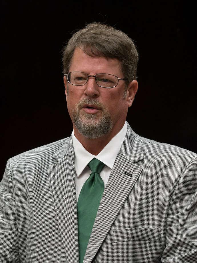 Midland College introduces Walt Williams on Aug. 22, 2017 as the new head golf coach. Tim Fischer/Reporter-Telegram