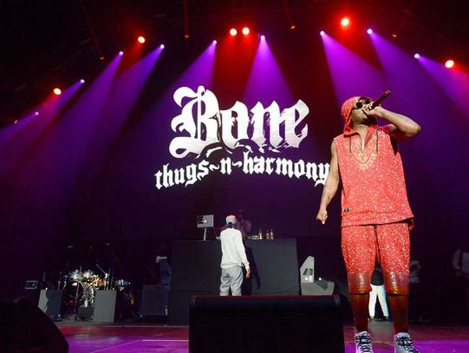 Bone Thugs-N-Harmony have been around nearly 25 years. Photo: Scott Dudelson / Scott Dudelson / Getty Images / 2017 Scott Dudelson