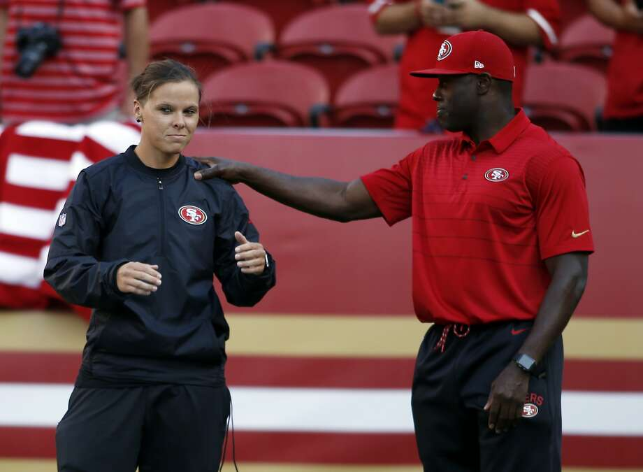 Katie Sowers Becomes First Openly Gay Coach in NFL