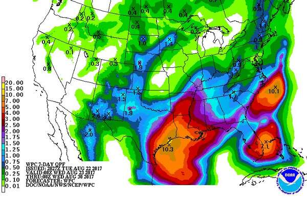7-day Rainfall prediction