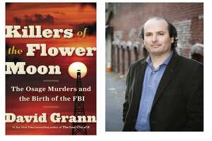"""David Grann's """"Killer of the Flower Moon"""" is one of five finalists for the nonfiction National Book Award."""