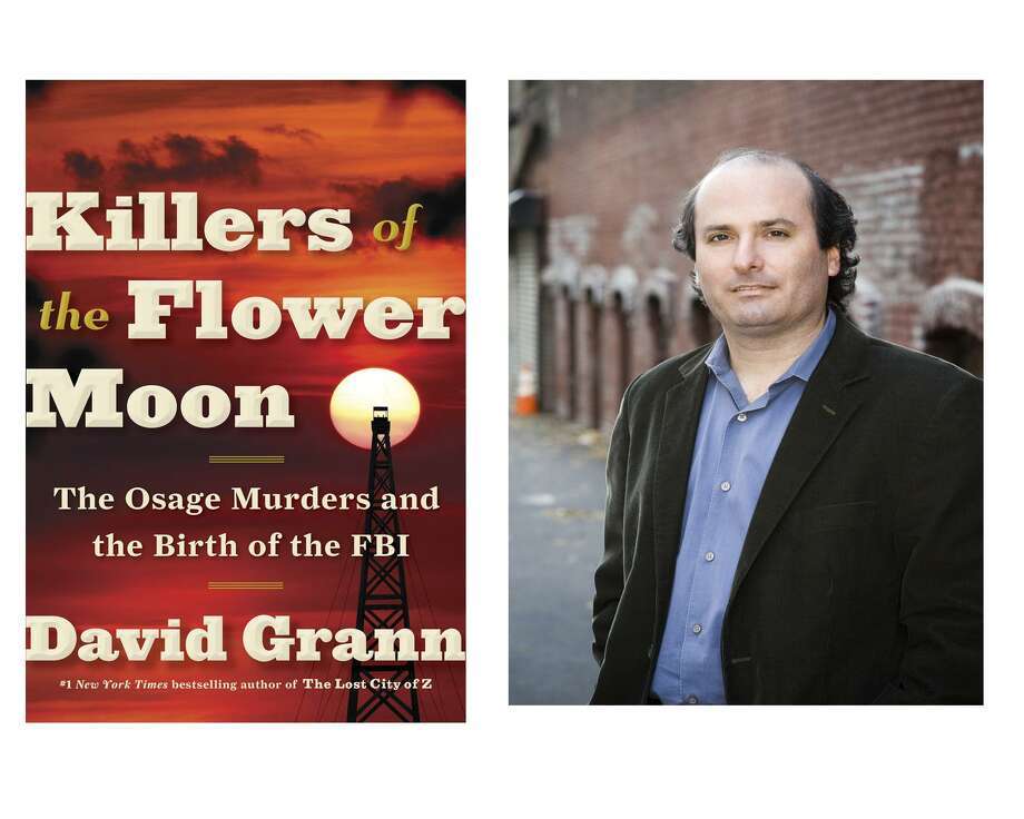 "David Grann tells a harrowing story of murder and injustice in ""Killers of the Flower Moon."" Sequestered in an isolated corner of Oklahoma by the U.S. federal government, the Osage people nevertheless struck it rich when oil was discovered on their land at the dawn of the automobile age. By the 1920s, the tribe boasted millionaires living in mansions — much to the dismay of their white neighbors. Then, members of the Osage tribe began to be shot, blown up, poisoned — 24 in all, though Grann thinks the number is much higher. Local white law enforcement made desultory attempts at investigating. The fledgling FBI was called in; the agency's new, 29-year-old director J. Edgar Hoover assigned the case to a former Texas Ranger named Tom White, who is the hero of this sordid story. Photo: Courtesy Doubleday"