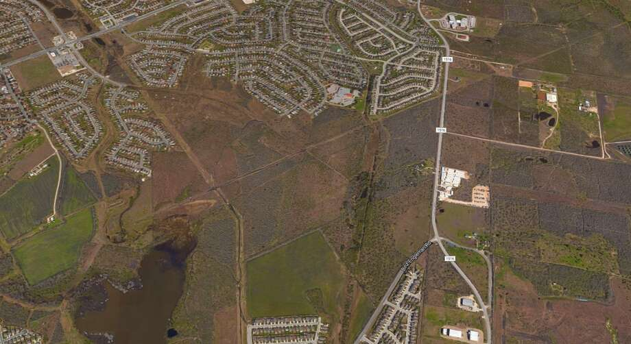 Houston real estate firm Rockspring Capital has purchased 304 acres of land on the Northeast Side where it plans to build hundreds of homes Photo: Google Maps