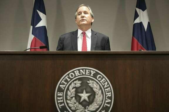 FILE PHOTO - Texas Attorney General Ken Paxton.
