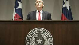 "Texas Attorney General Ken Paxton, seen in 2016, said in a press release earlier this month that ""President Obama used"" his DACA order ""to unilaterally confer U.S. citizenship."""