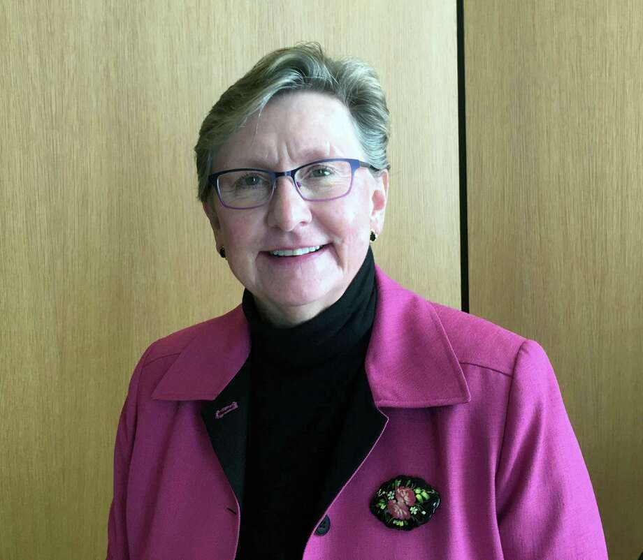 Sandra Dennies was appointed as the town's interim Chief Financial Officer by the Board of Selectmen on Tuesday, May 2, 2017 in New Canaan, Conn. Photo: Justin Papp / Hearst Connecticut Media / New Canaan News