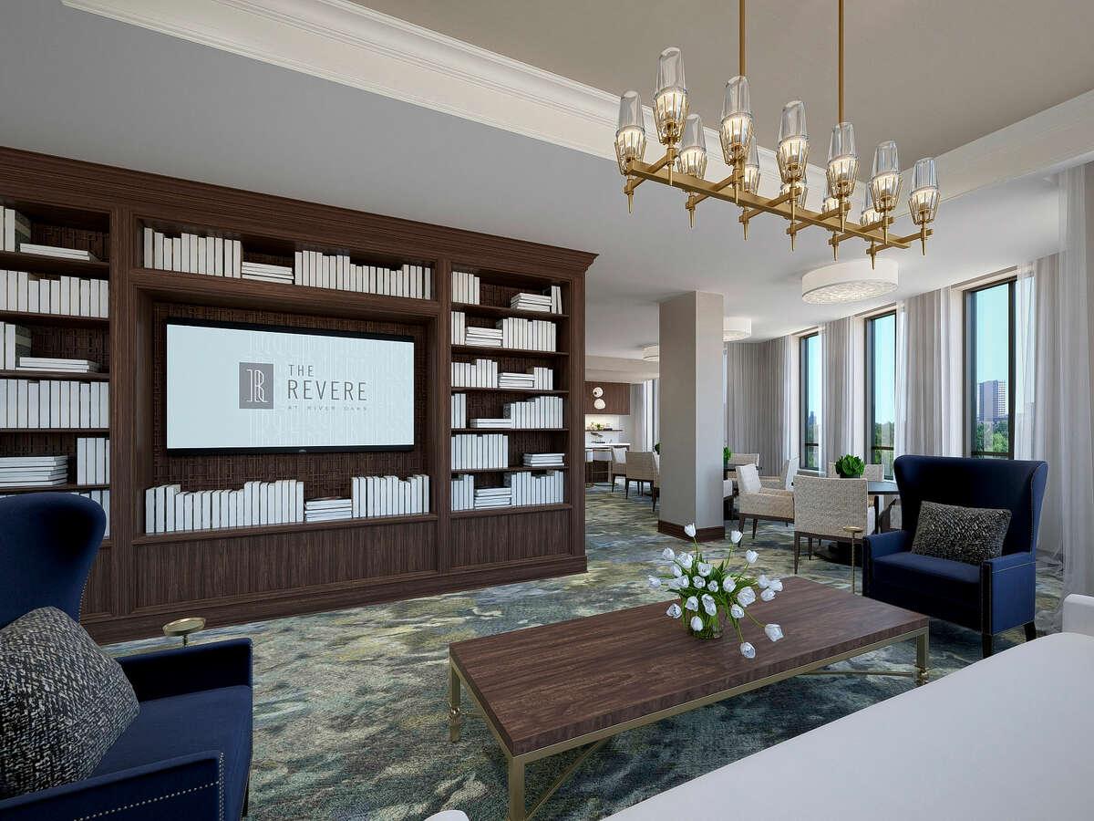 Rendering of The Revere, a proposed 32-unit luxury condominium building near River Oaks.